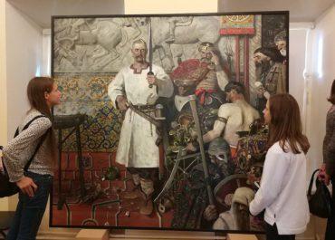 Выставка картин Павла Рыженко
