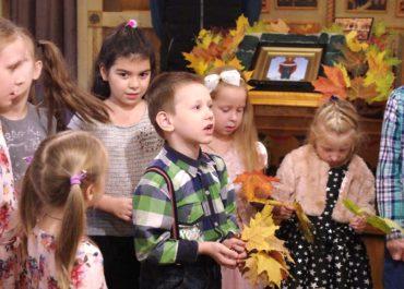Праздник Покрова Пресвятой Богородицы в воскресной школе
