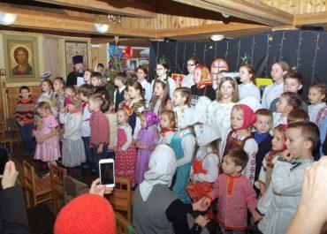 Фоторепортаж с рождественского праздника воскресной школы