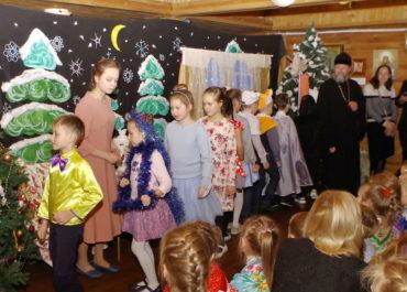 Спектакль «Дорога в Рождество Христово» в воскресной школе
