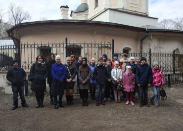 Поездка учащихся вш в храм прп. Сергия Радонежского в Крапивниках