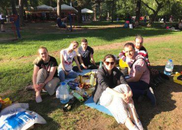 Пикник в Кузьминскомлесопарке