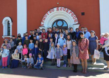 Окончание учебного года в воскресной школе
