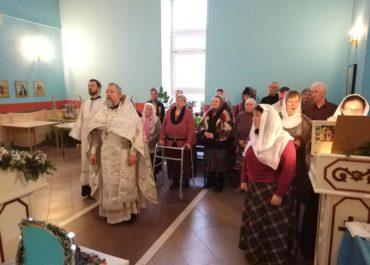 В домовом храме центра социальной адаптации имени Елизаветы Глинки состоялся рождественский праздник