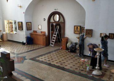 Генеральная уборка нашего храма