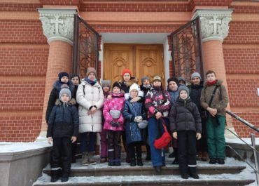 Поездка учащихся воскресной школы в Покровский Хотьков монастырь